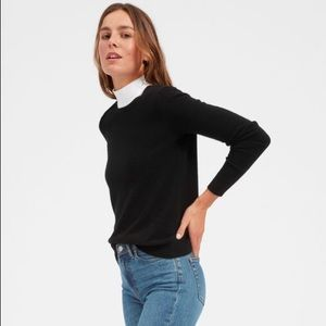 Everlane The Classic Cashmere Sweater small